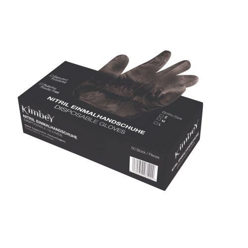 Rękawice nitrylowe, bezpudrowe