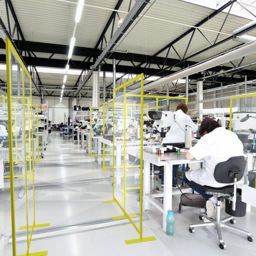 Sichere Produktionshalle