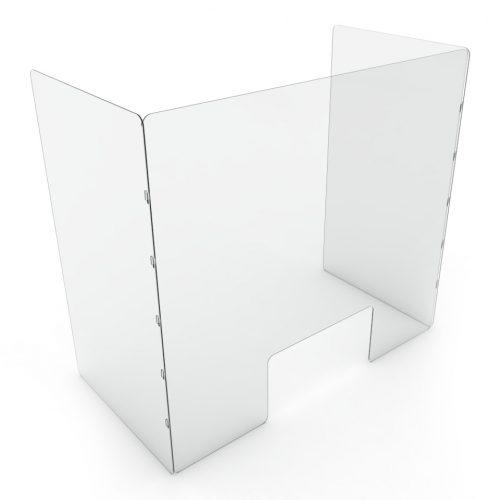 Einfache Plexiglasabdeckung